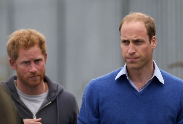 Princes William & Harry Visit The BBC's DIY SOS Team Veteran's Special