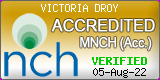 Victoria Droy. NCH Membership 4600. Fully accredited member of the National Council for Hypnotherapy