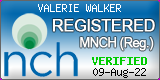 Valerie Walker is a registered member of the NCH National Council for Hypnotherapy